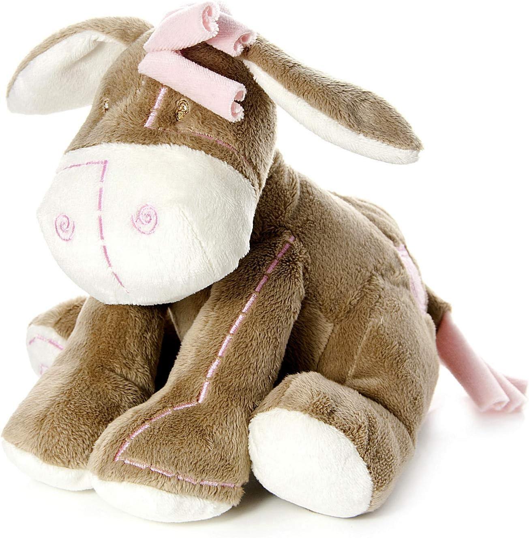 Mousehouse Gifts Bebé Infante Peluche Animal de Felpa Juguete Rosa Burro asno para recién Nacido bebé niña