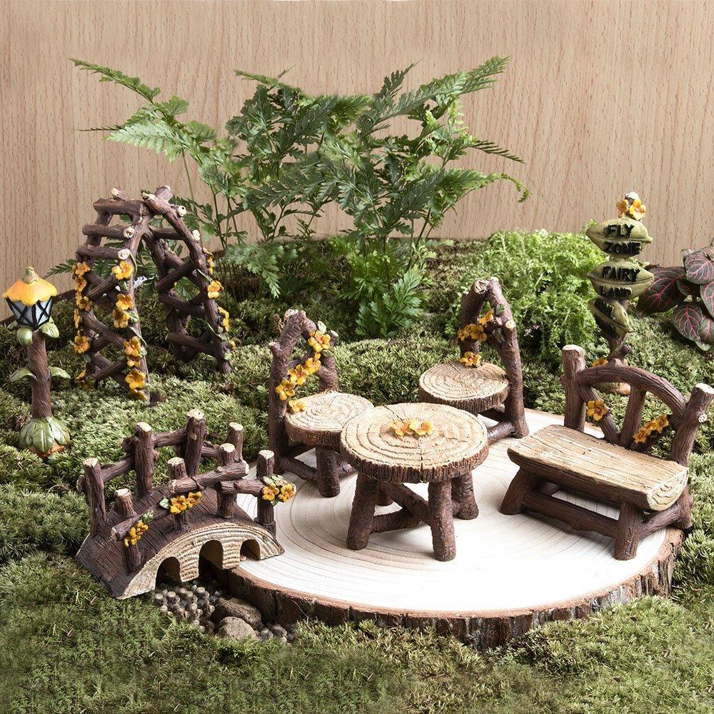 Mica decorations 172255 Mini gardening, beige: Amazon.de: Garten