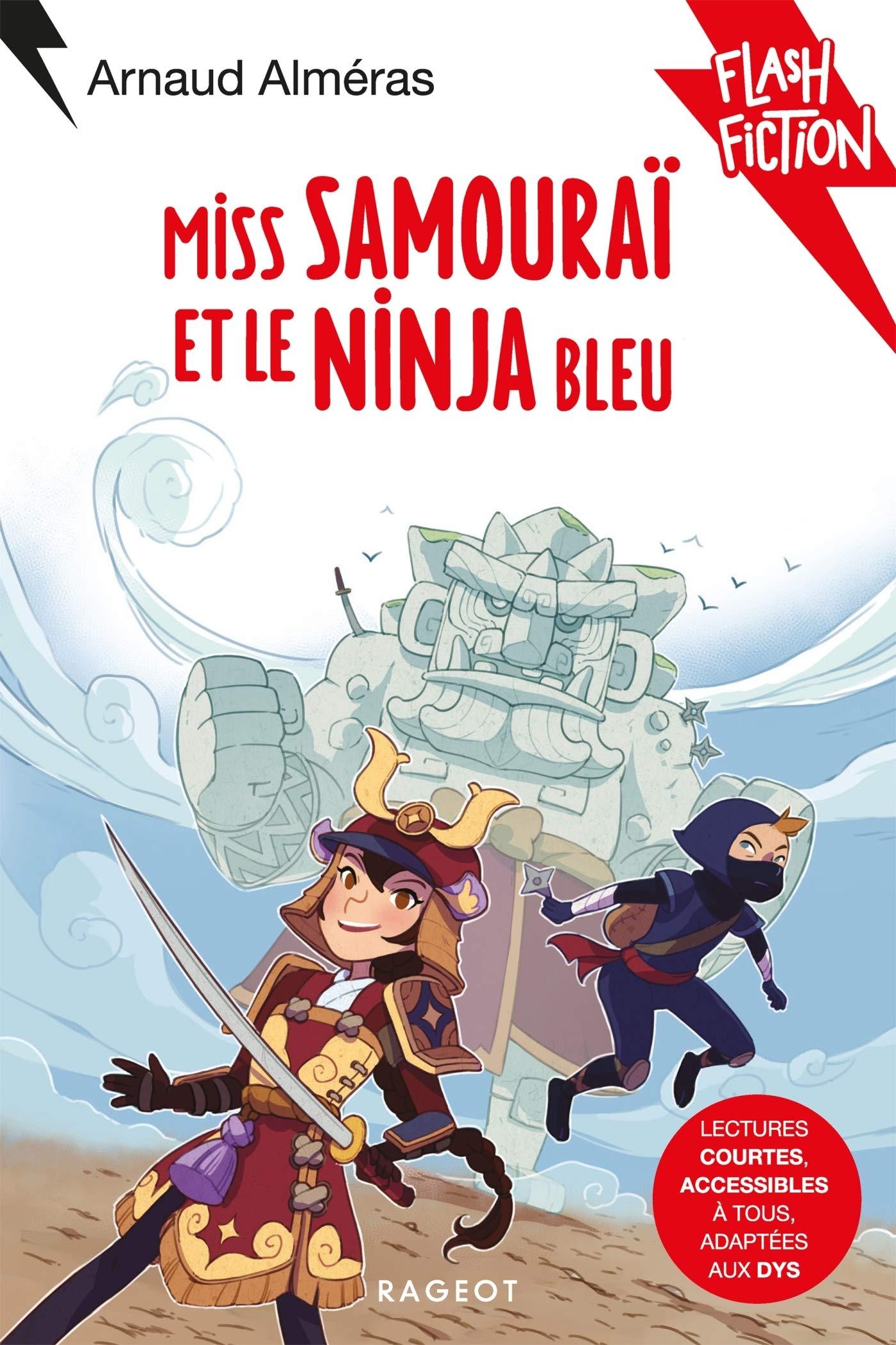 Miss Samouraï et le Ninja bleu (Flash Fiction): Amazon.es ...