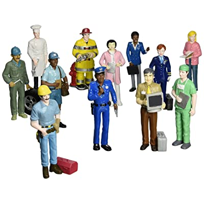 Pretend Professionals 12 Pretend Career Figures Creative Minds: Toys & Games