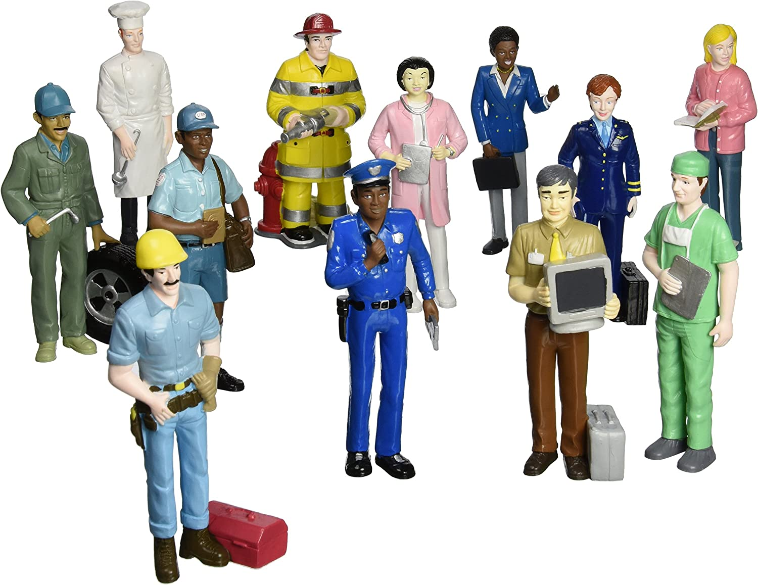 Card Player Funny vocational profession Figures Collection 14 cm New