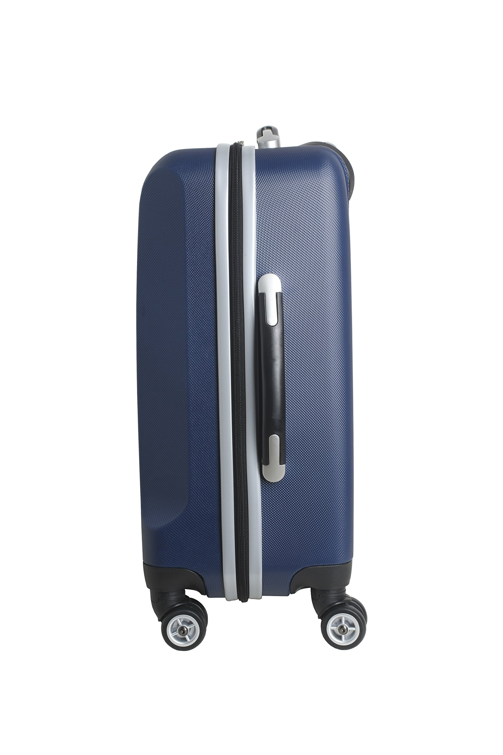 NFL Dallas Cowboys Carry-On Hardcase Luggage Spinner, Navy by Denco (Image #4)