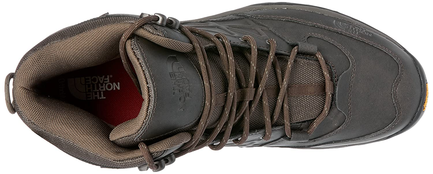 The North Face Mens Storm Mid Waterproof Leather Boot The North Face Men/'s Storm Mid Waterproof Leather Boot