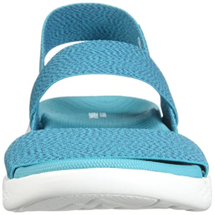 c384f1c96c74 Skechers Women s On the Go 600 Ideal Heathered Ankle Wrap Sandal ...