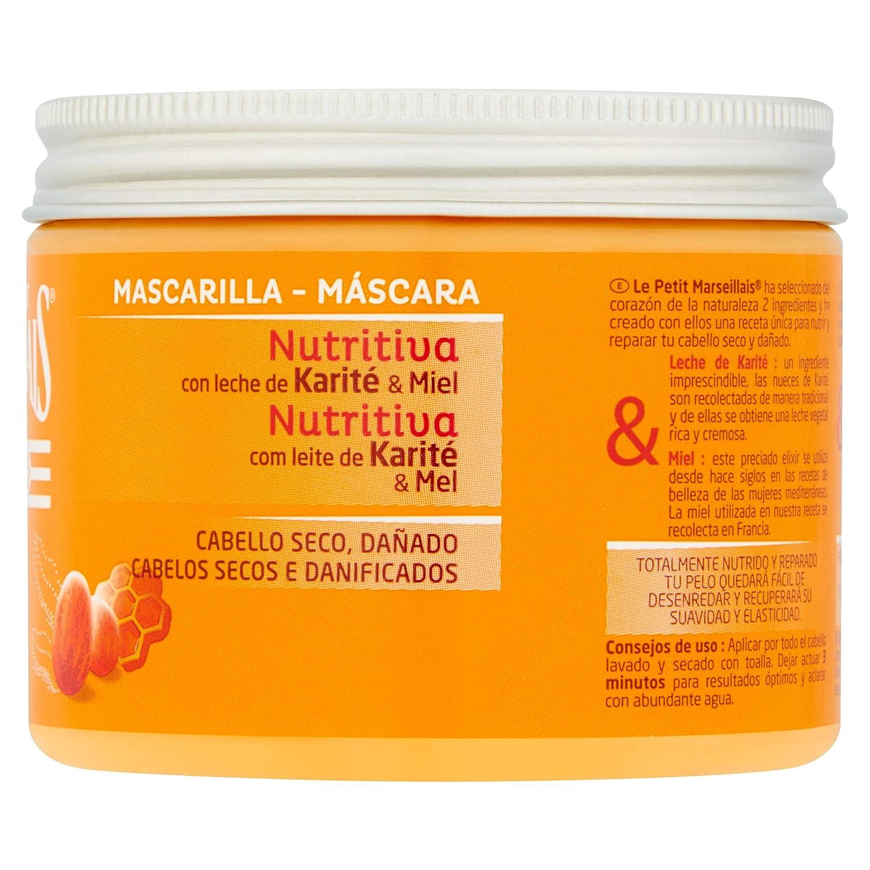 Le Petit Marsellais - Mascarilla Nutritiva con Leche de Karité y Miel, 300 ml: Amazon.es: Amazon Pantry