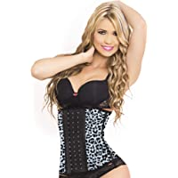 5892399e52 LadySlim by NuvoFit Lady Slim Fajas Colombiana Latex Waist Cincher Trainer  Trimmer Corset