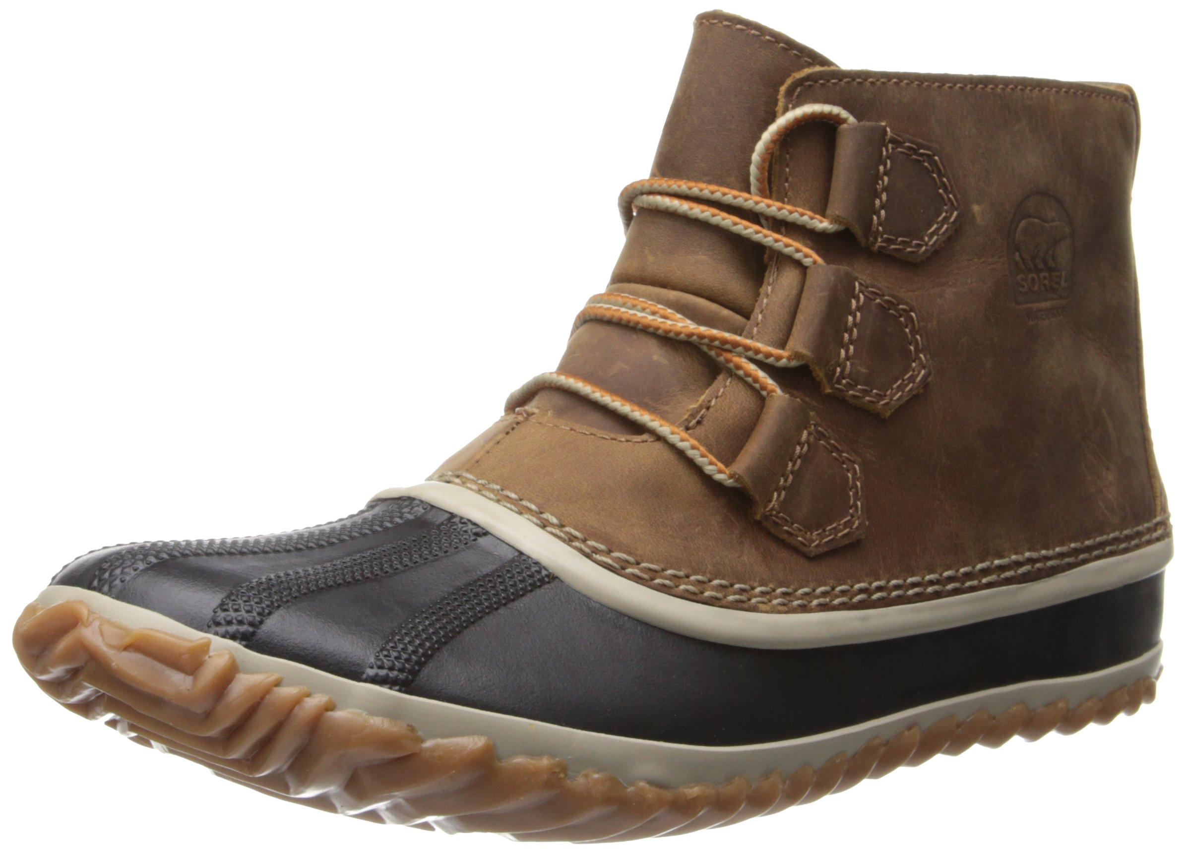 Sorel Women's Out N about Leather Snow Boot,Elk,10.5 M US