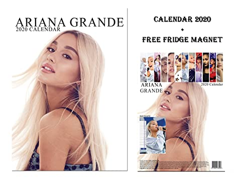 Ariana Grande Calendario.Ariana Grande Calendario 2020 Limited Edition Ariana