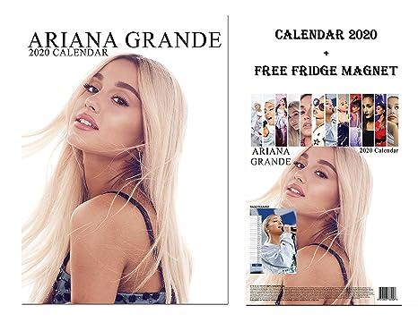 Calendario Ariana Grande 2020.Ariana Grande Calendario 2020 Limited Edition Ariana