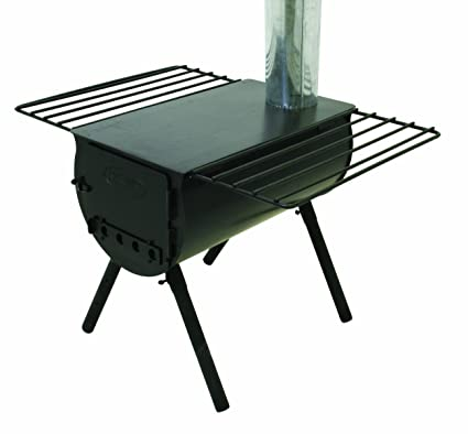 C& Chef Alpine CS14 Heavy Duty Cylinder Tent Cabin Stove with d&er and side shelves  sc 1 st  Amazon.com & Amazon.com : Camp Chef Alpine CS14 Heavy Duty Cylinder Tent Cabin ...