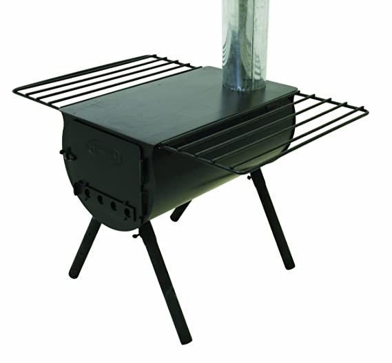 1. Camp Chef Alpine CS14 Heavy Duty Cylinder Tent Cabin Stove