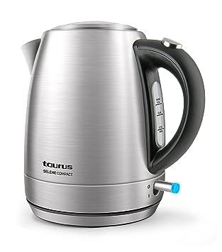 Taurus Selene Compac - Hervidor de agua (2200 W, jarra sin cable, filtro