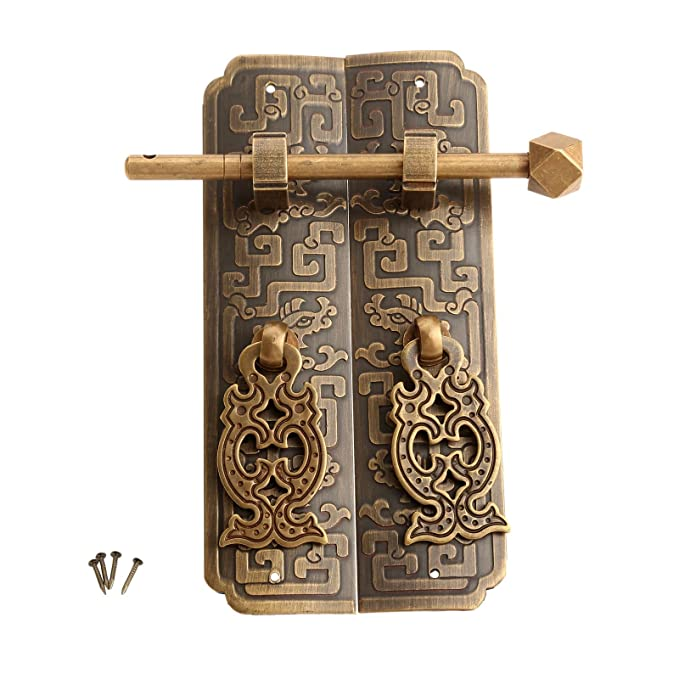 Amazon.com: Muebles Antiguos perilla de latón mango de ...