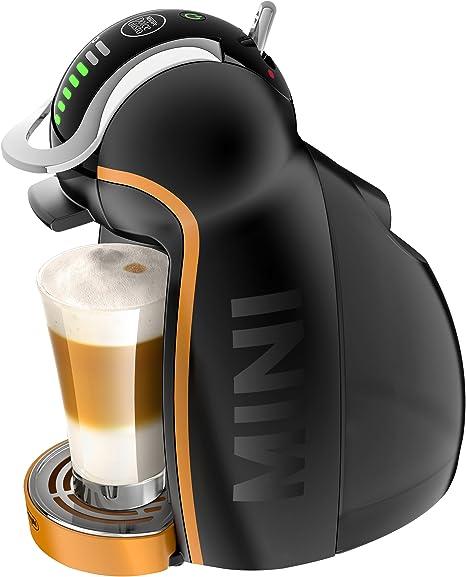DeLonghi Dolce Gusto Genio 2 EG 466 - Cafetera automática, color negro y naranja: Amazon.es: Hogar