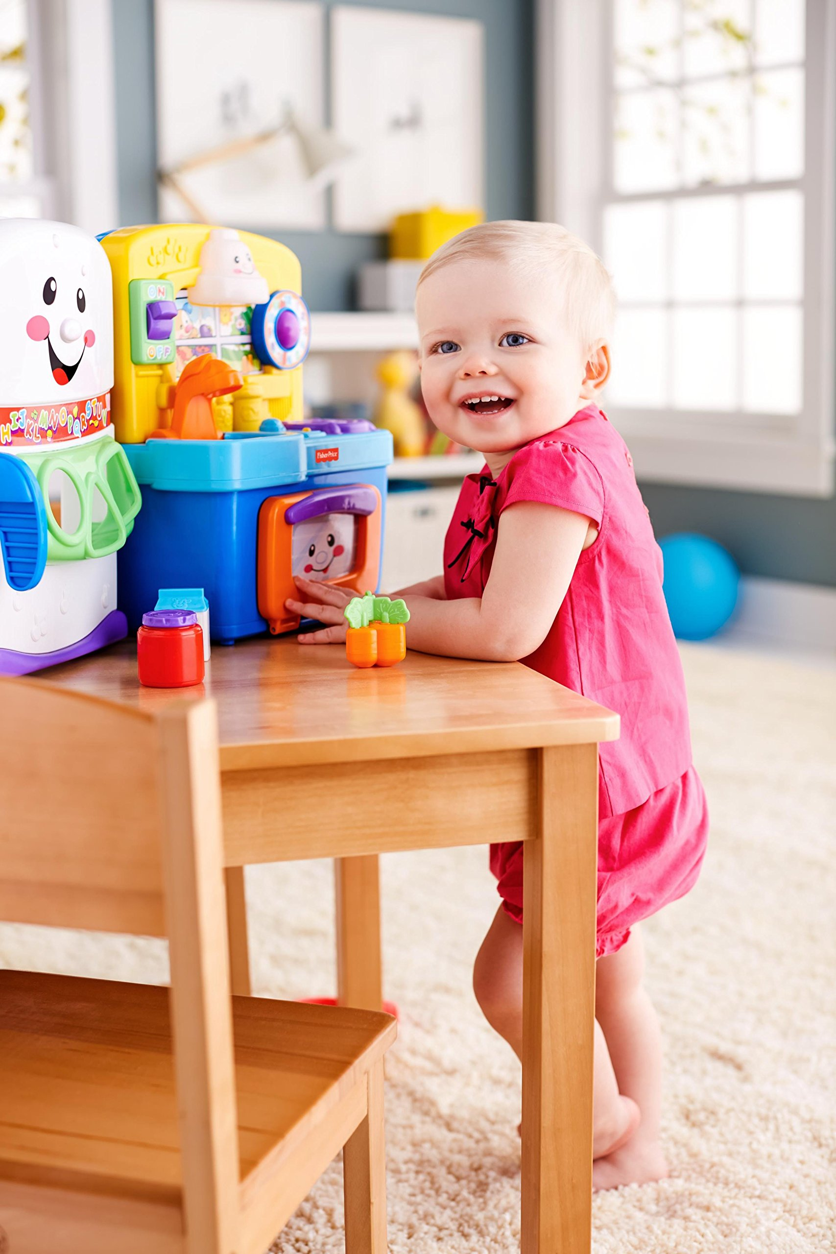 6b38aa36abf1 Fisher-Price Laugh   Learn Learning Kitchen  Amazon Exclusive ...