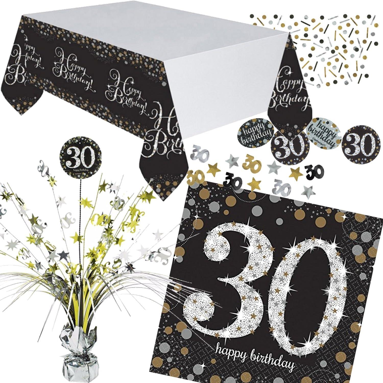30 Geburtstag Party Servietten Amscan Motiv-Servietten Tisch Deko #511544