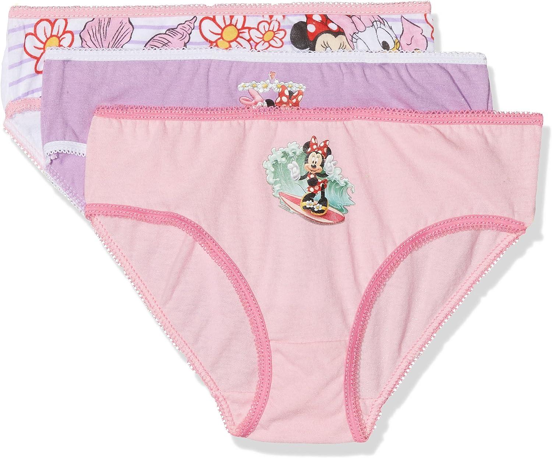Disney Lovely Minnie Braguitas (Pack de 3), Multicolor, 6-7 Años para Niñas: Amazon.es: Ropa y accesorios