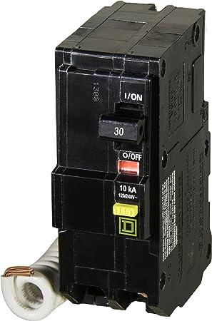 Square D By Schneider Electric Qo230gficp Qo 30 Amp Two Pole Gfci Breaker Ground Fault Circuit Interrupters Amazon Com