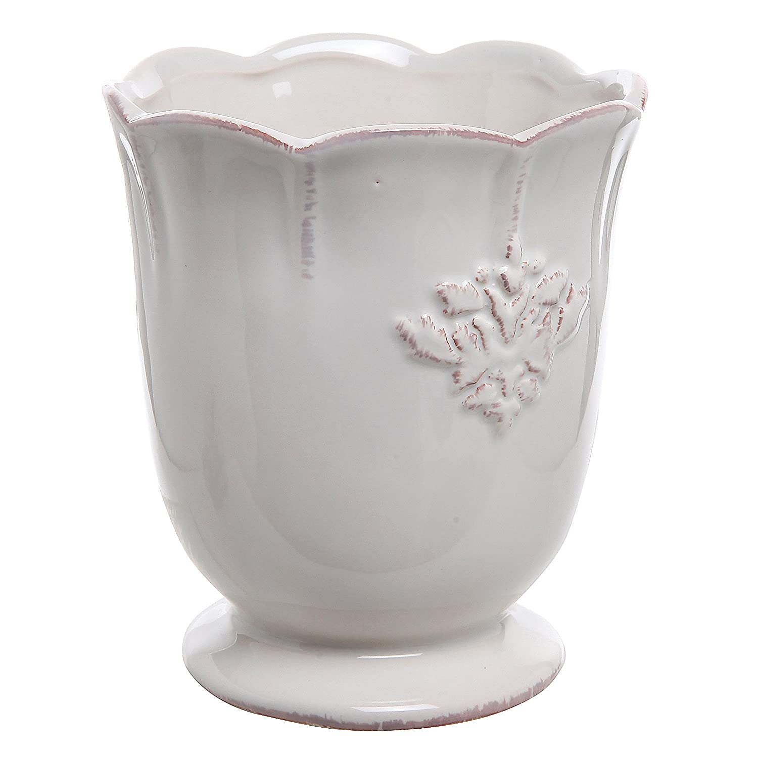 amazon com french country design off white ceramic small