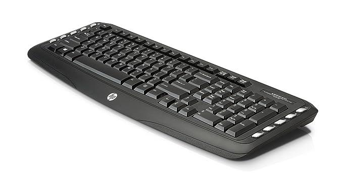HP C2500 - Teclado y ratón (QWERTY Español, USB), color negro: Amazon.es: Informática