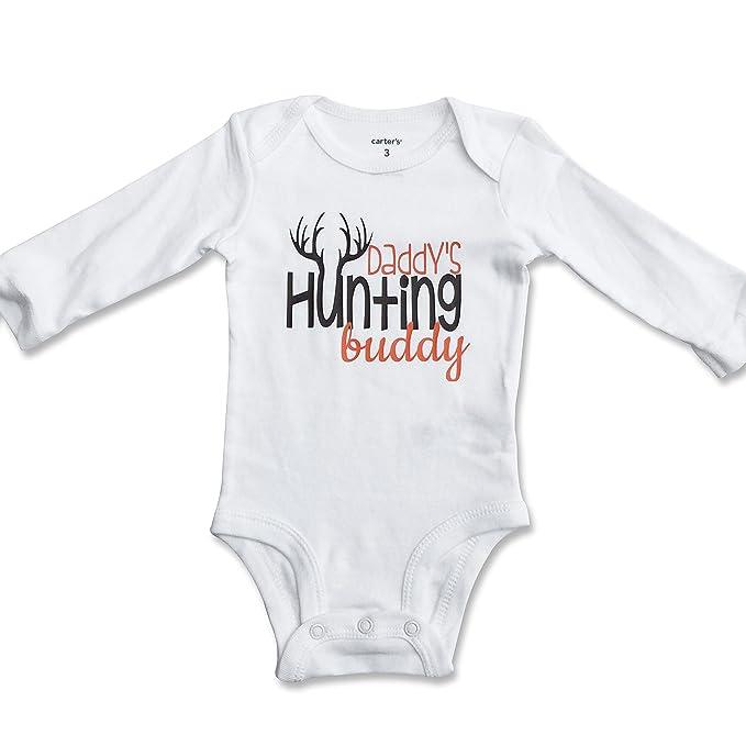 91832cf5c Amazon.com: Daddy's Hunting Buddy Onesie/One Piece Bodysuit (6 Month ...