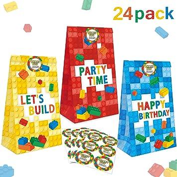 Amazon.com: 24 paquetes de bloques de construcción Goodie ...