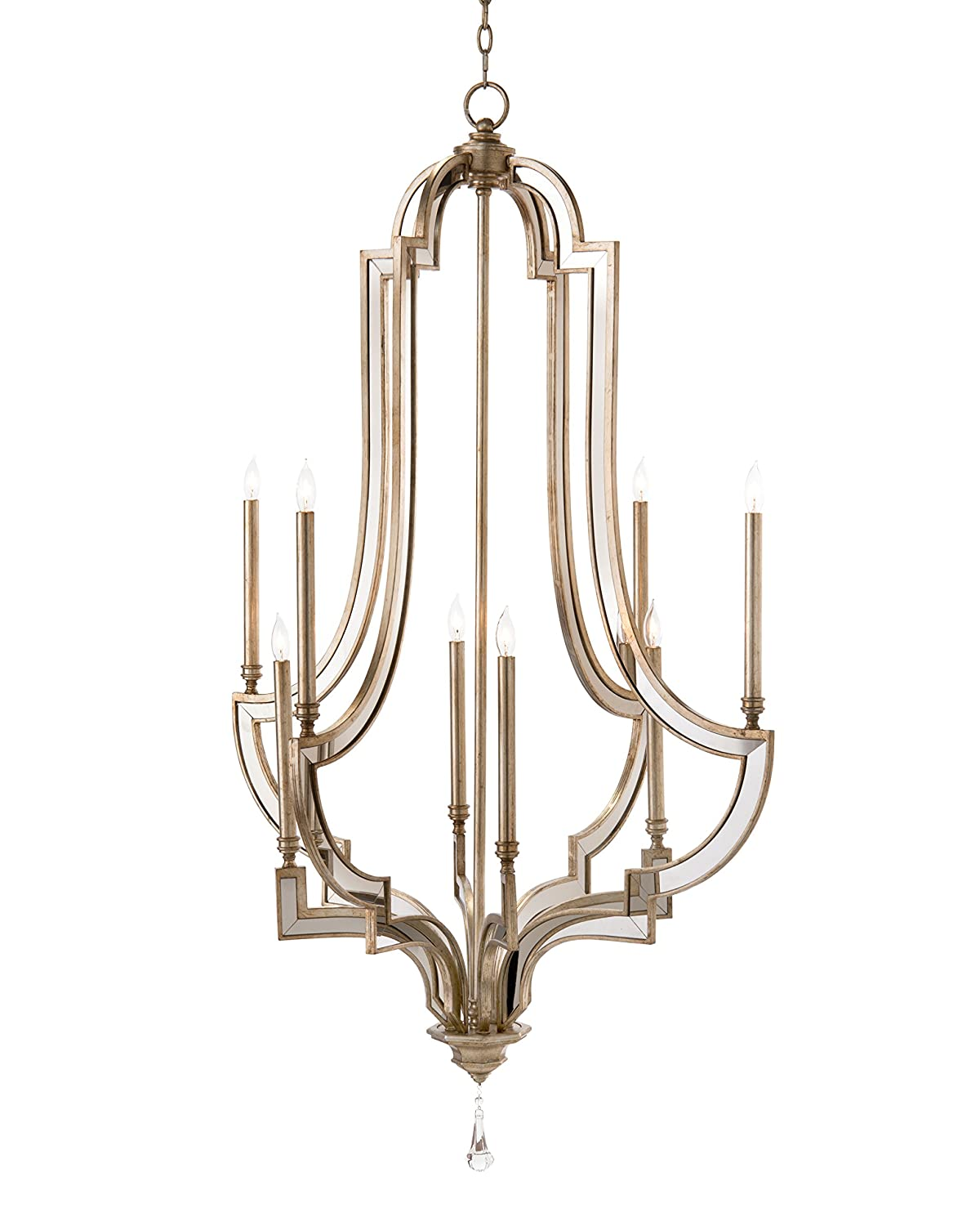 John richard lighting Lantern Amazoncom John Richard Eight Light Reflections Chandelier Amazoncom