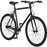 Schwinn Stites Fixie Adult Commuter Road Bike, Single-Speed, Steel Stand-Over Frame, 700c Wheels, Flip-Flop Hub…