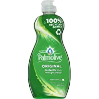 Palmolive Ultra Strength Concentrate Dishwashing Liquid Original Tough on Grease, 400mL