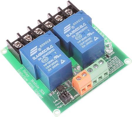 12V 2-Channel Relay Module Optocoupler H//L Level Triger for Arduino Raspber