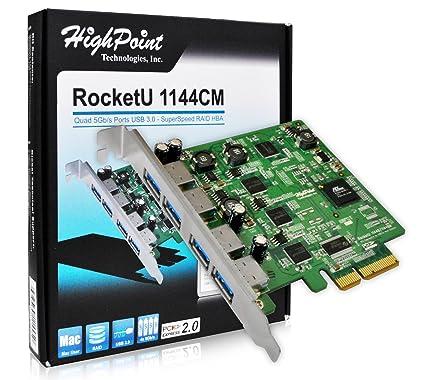 highpoint rocketu quad usb 3.0 pcie card for mac pro