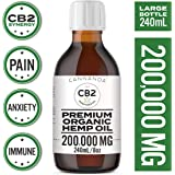 CB2 terpene-infused Hemp Seed Oil 240ml | Best over-the-counter alternative to CBD | 100% Pure & Natural