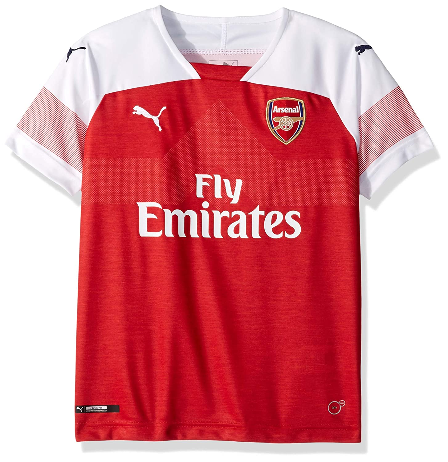 new product 83874 6c867 PUMA Men's Arsenal Fc Home Shirt Replica Ss Kids Wi