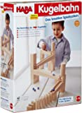 HABA Ball track Starter Set - 44 Piece Wooden Marble Run (Made in Germany)