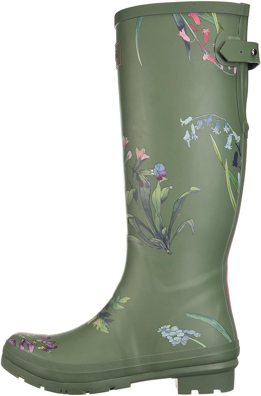 Joules Women's 8 Wellyprint Rain Boot B073XJP9R7 8 Women's B(M) US|Laurel Botanical c2419d