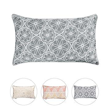 Amazon.com: Hahadidi - Fundas de almohada decorativas para ...