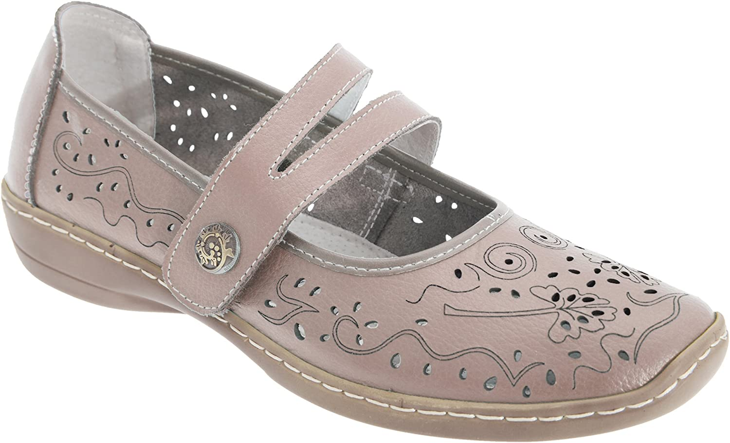 Boulevard Womens/Ladies Touch Fastening