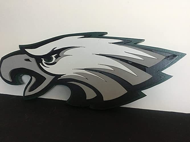 e4a4c7902e5 Image Unavailable. Image not available for. Color  Philadelphia Eagles  Wooden Sign