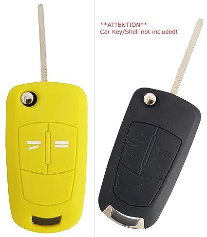 CK + Opel Auto de llave móvil Key Cover Case Funda Silicona para Adam Astra Corsa insignia Meriva Zafira
