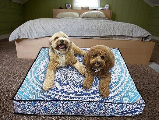 Almohada india para perro, tapiz bohemio, tapiz hippie, decorativo ...