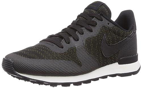 Nike Damen Internationalist Jacquard Sneakers Grün (Faded