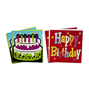 Amazon Birthday Greeting Cards Gold Collection Set Of 10