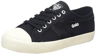 Gola Coaster, Men's Low-Top Sneakers, Black (Black/Black/Off