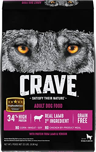 CRAVE Grain Free High Protein Adult Dry Dog Food