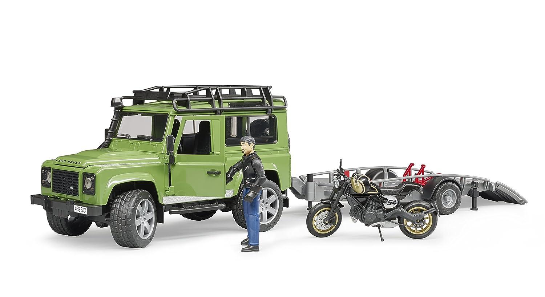 Spielzeugautos Wagon/ Ducati 02598 Land Rover St