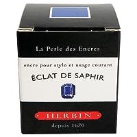 J.Herbin 13016T Tinte für Füller, 30 ml, saphirblau