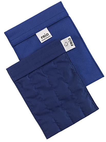 Frio - Bolsa isotérmica para mantener insulina, color azul, 14 x 19 cm
