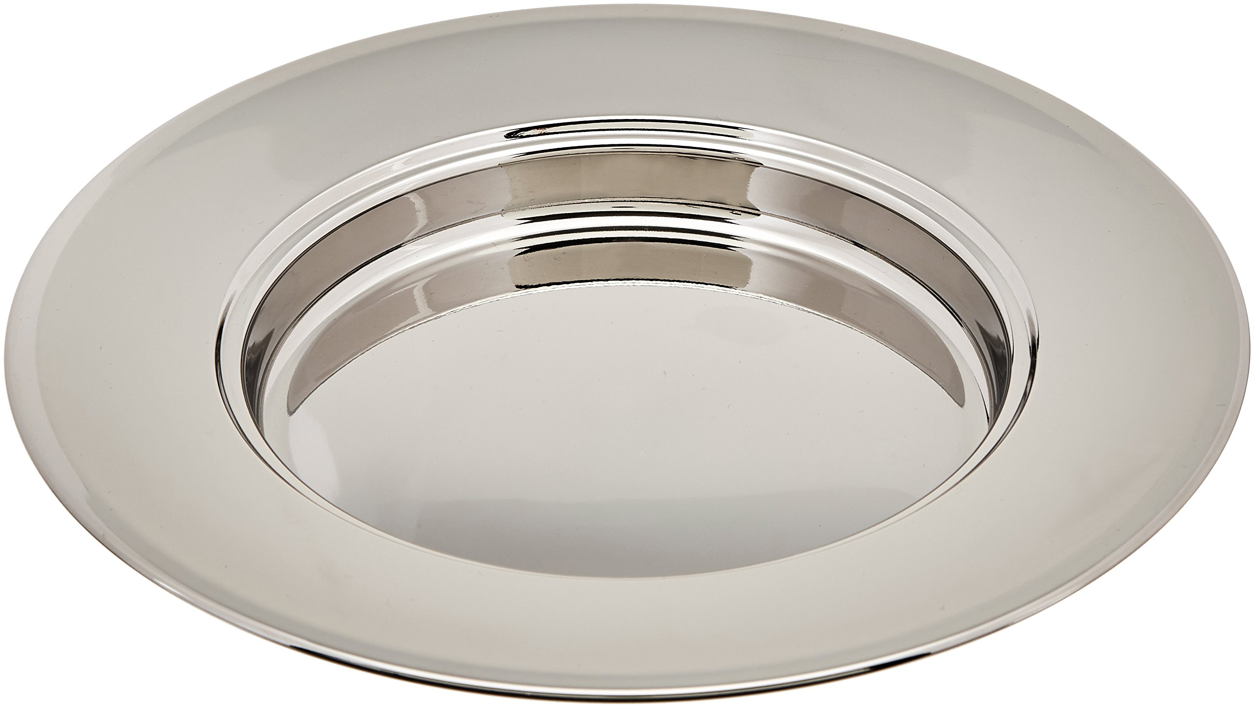 Stainless Steel Bread Plate (serves 40) - Remembranceware