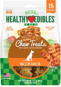 Nylabone Healthy Edibles Dog Chew Treats for dogs up to 20 pounds