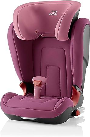 Oferta amazon: Britax Römer Silla de coche 3,5 años - 12 años, 15 - 36 kg, KIDFIX R, ISOFIX, Grupo 2/3, Wine Rose